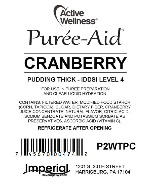 Cranberry Puree-Aid